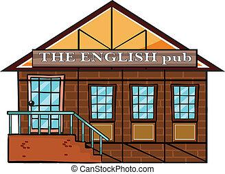 pub, 英語