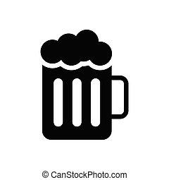 pub glyph flat icon