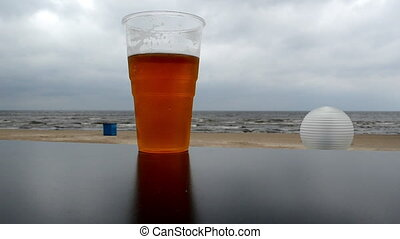 pub mug beer sea