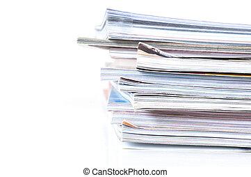 pubblicazione periodica, mucchio