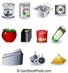pubblicità, icone
