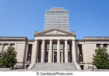 Public building in Nashville, Tennessee.