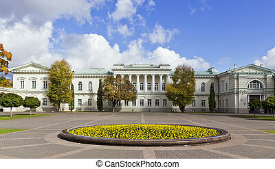 Presidential Palace courtyard - Public domain Presidential...
