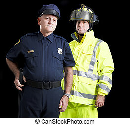 Public Employees - Police officer and firefighter, serious...