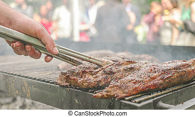 Public Food Festival Event