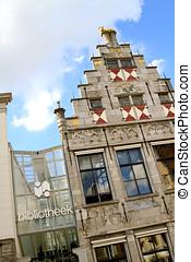 Public library in Dordrecht - Monumental building public...