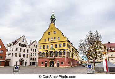 Public library in the city center of Ulm - Germany