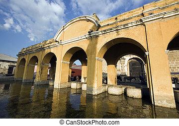 Public Loundry in Antigua - Public Loundry Building in ...