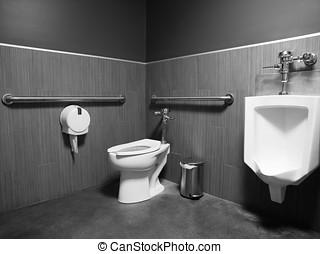 Public Mens Restroom