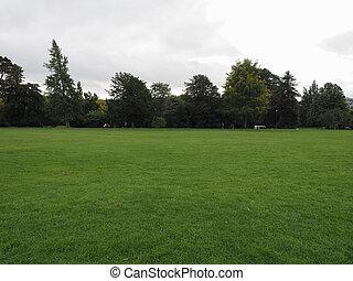 Public park in Bath