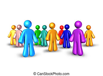Public relations with business partners network for...