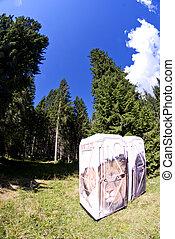 Public Restrooms, Dolomites
