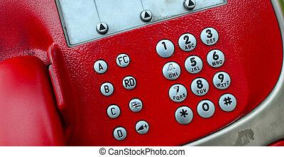 Public telephone concept