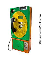 public telephone isolated