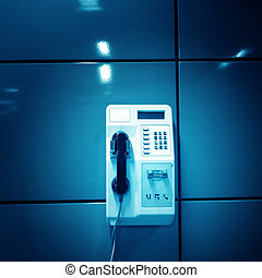telephone - Public telephone on the wall