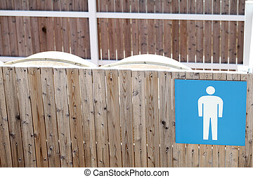 Public toilet for male