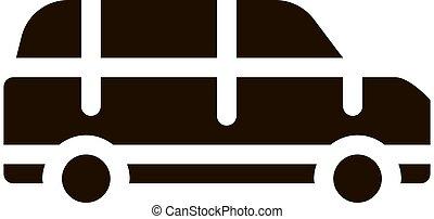 Public Transport Automobile Vector Icon