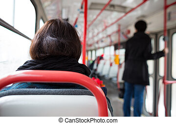 Public transport series - taking a tram commute to...