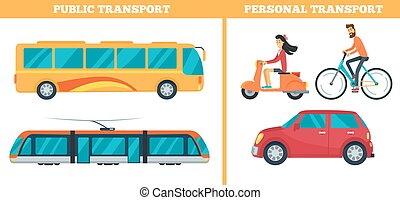 Public Transport versus Personal Transport