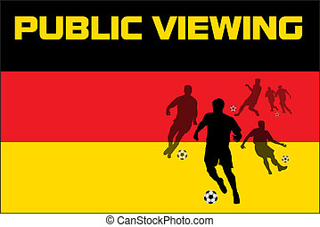Public Viewing - Germany