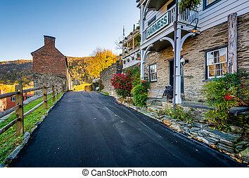 Public Way, in Harpers Ferry, West Virginia.