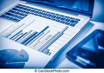 publicidad, concept., mejorar, digital, estadística, comercial, mercadotecnia, promoción