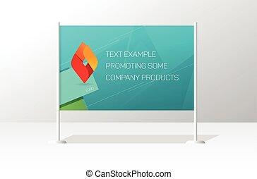 publicidad, signboard, tabla, estante, anuncio, cartelera, bandera, plantilla