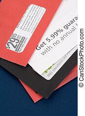 publicité, courrier