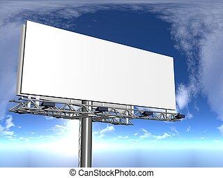 publicity - 3d illustration of publicity