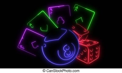 pub's games icons video animation laser - games icons laser...