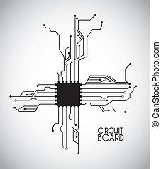 puce, circuit