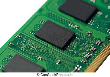 puce, mémoire ordinateur