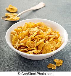 puchar, kasza, cornflake