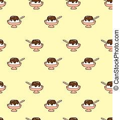 pudding pattern background