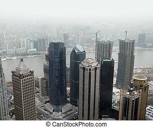 pudong, alatt, shanghai
