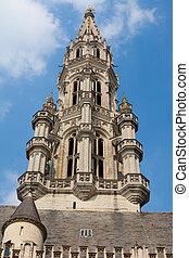 pueblo, bruselas, vestíbulo
