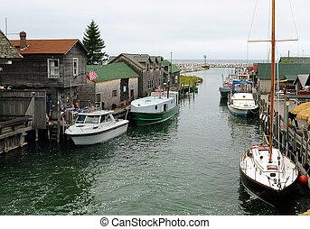 pueblo de pesca