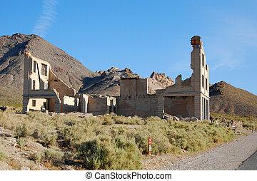 pueblo fantasma de rhyolite, 4