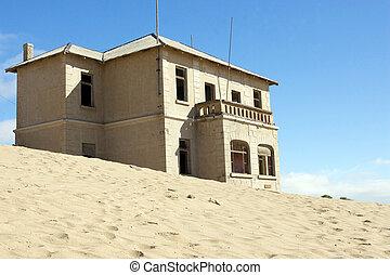 pueblo, namibia, gosth, kolmanskoppe, luderitz