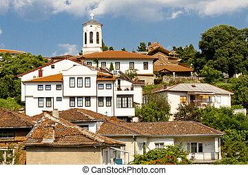 pueblo, ohrid, -, macedonia