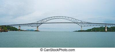 (puente, amériques, de, americas)., las, pont