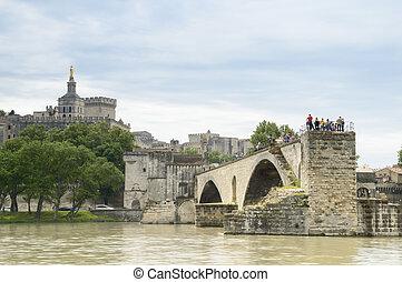 puente, avignon, catedral, francia