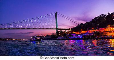 Puente, bósforo,  Sunse