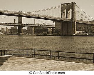 puente, brooklyn, dúo