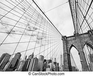 puente, brooklyn, nyc, estados unidos de américa