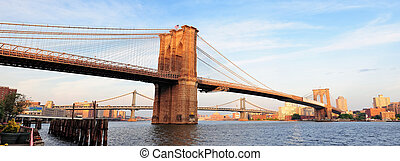 puente, brooklyn, panorama