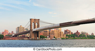 puente, brooklyn, panorama