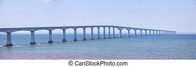 puente, confederación, panorama