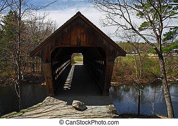 puente cubierto, en, new hampshire