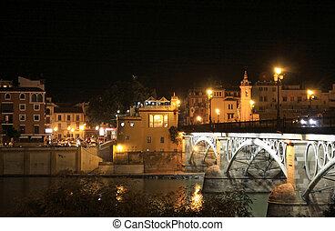 Puente de Isabel II - Triana - Sevilla - Espana